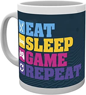 GB Eye LTD, Gaming, Eat Sleep, Tasse