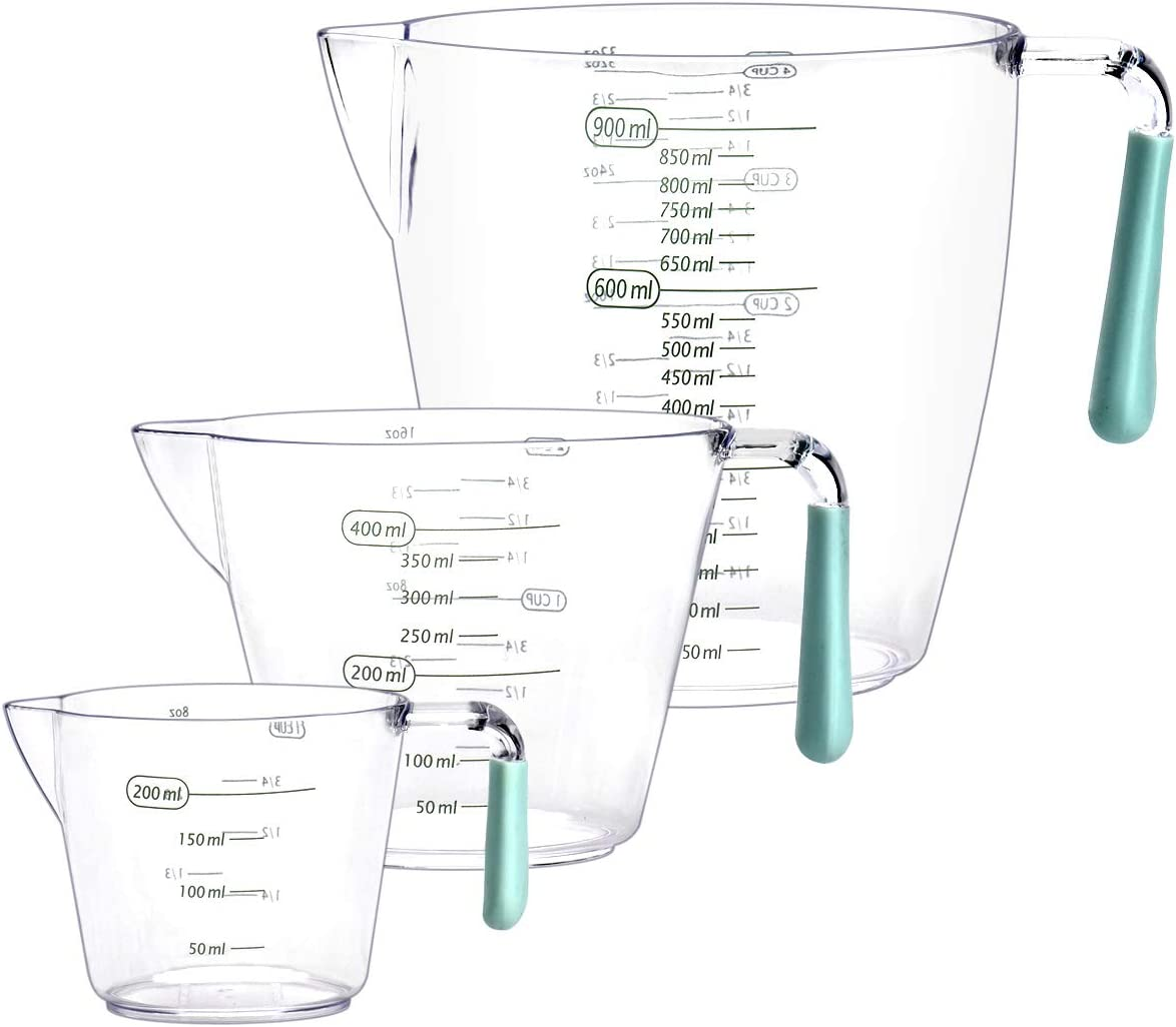 Plastic Measuring Cups Set 4 2 1 Oz Measure with Max 69% OFF Cup Soldering and Ml