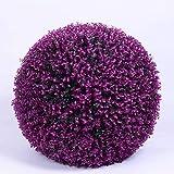 AYHMT Bola de Poda de Boj Artificial, Bola de Cesped Artificial, Plantas Artificiales para Exteriores, Sin Mantenimiento, Resistente a la Intemperie, Utilizada para la Decoración de Bodas
