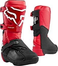 Fox Racing 2020 Youth Comp Boots (8) (Flame RED)