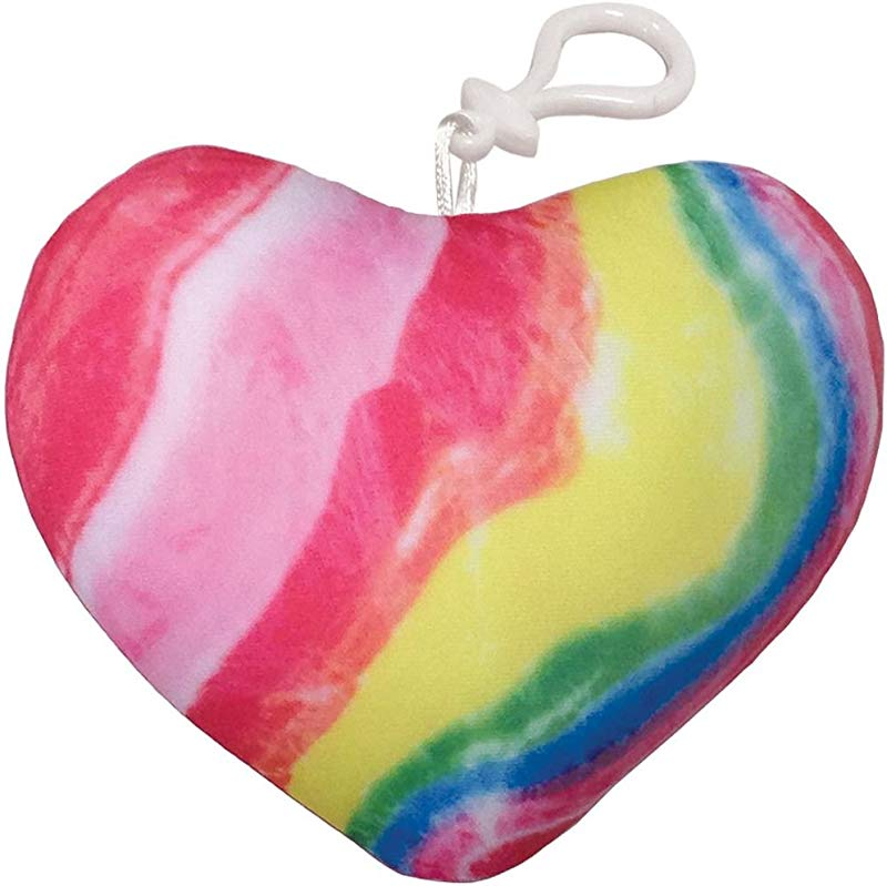 Iscream Strawberry Scented Candy Heart Mini Microbead Pillow Backpack Charm