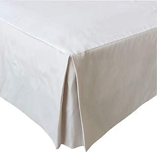 Coton beige Chengstore cache-sommier /à volants avec /élastique de style enveloppant Queen Size