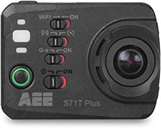 AEE Technology S71T Plus 4K 1080P 16MP HD LCD Touchscreen 120FPS Slow-Mo Action Camera 100M IP68 Waterproof Case (Black)