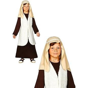GUIRMA Costume San Giuseppe Bambino recita pastorello Presepe