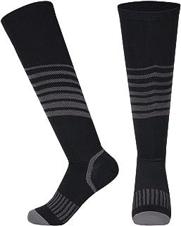 VISUNION Compression Socks for Men & Women Striped...