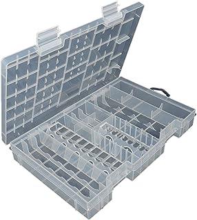 GoldenTrading AAA AA C D 9V 18650 Battery Storage Case Holder Hard Plastic Box Organiser