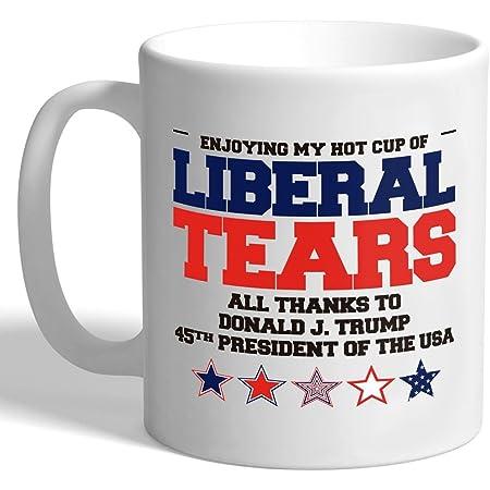 Liberal Tears 11oz Funny Coffee Mug Trump Mug