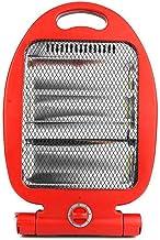Feketeuki Calentador eléctrico del hogar Calentador de Estufa de asado de bajo Consumo Calentador Solar pequeño Oficina Estudiante Ventilador eléctrico Horno eléctrico - Rojo
