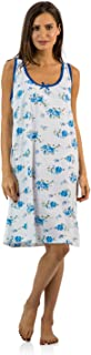 Casual Nights Cotton Sleeveless Nightgown