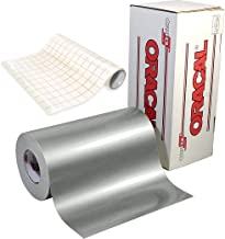 ORACAL 651 Gloss Silver Metallic Adhesive Craft Vinyl 12