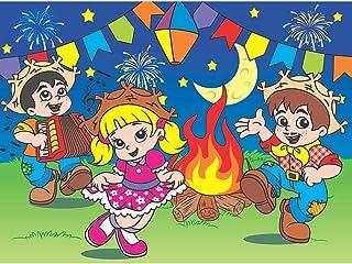 Painel Tecido TNT Grande Decoração Festa Junina