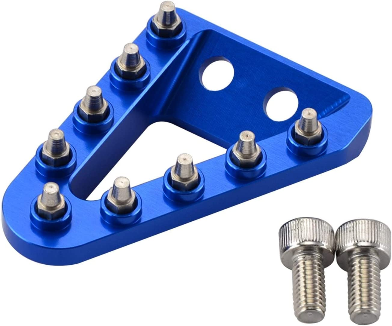 SHIZHI Freno Trasero Pedal Paso Tip Plate Fit for KTM SX SXF EXC EXCF XC XCF XCW XCFW for Husqvarna 125 150 250 350 450 500 2017-2020 2016 Color : Blue
