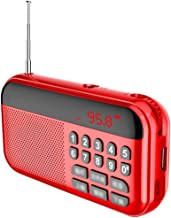 WAZMM Portable Retro DAB and DAB,Hi-Fi Bluetooth Wireless CD Player Micro Compact Stereo Speaker System - Alarm Clock - Remote Control - Dual USB Charging