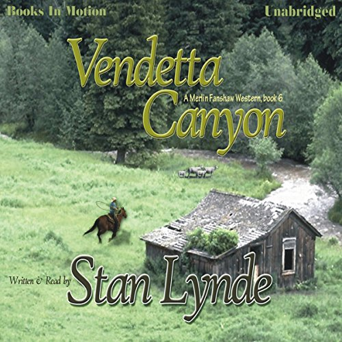 Vendetta Canyon audiobook cover art