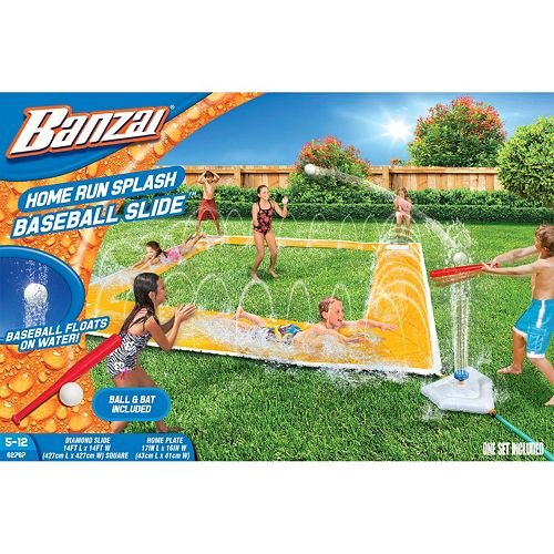 Banzai x 14ft Homerun Splash Baseball Slide