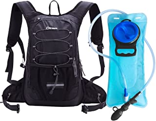 Dtown Insulated Hydration Pack Backpack for Hiking Running Cycling, with 2L Water Bladder Keeps Liquid Cool up to 4 Hours
