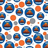 GRAPHICS & MORE Dump Donald Trump with Poop Premium Gift Wrap Wrapping Paper Roll