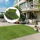 Zoom IMG-1 outsunny prato sintetico per giardino