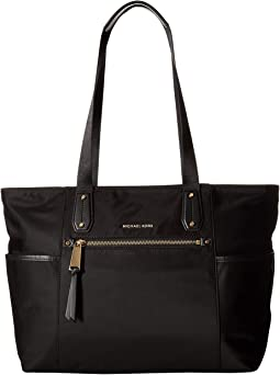 8bdfb6866207 MICHAEL Michael Kors. Voyager Large East/West Top Zip Tote. $258.00. Black
