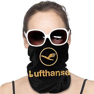 Lsjuee Lufthansa Airline Symbol Unisex multifunzionale Bandana senza cuciture per il collo Ghetta per il collo Copricapo p...