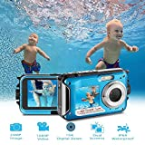 Waterproof Digital Camera Full HD 1080P Underwater Camera 24MP Video Recorder Camcorder Point and Shoot Camera Selfie...