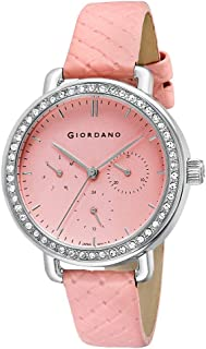 GIORDANO Women's Multi Function Pink Dial Watch - 2938-01