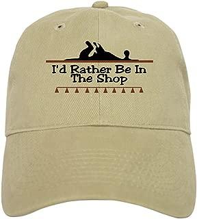 CafePress I'd Rather Be in The Shop Cap Baseball Cap