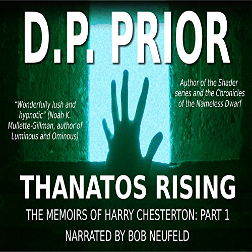 Thanatos Rising audiobook cover art