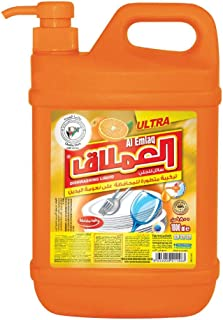 Al EMLAQ ULTRA DISH WASH ORANGE1800 ML - 2 Pieces