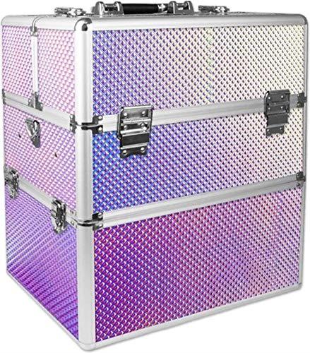 Cosmeticakoffer, beautycase, make-up koffer, nagelkoffer, kapperskoffer, XL Unicorn Rainbow - ALLEEN bij ONS verkrijgbaar - in het echt nog veel mooier