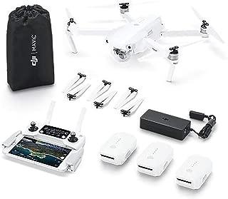 DJI Mavic Pro Alpine Combo - Dron 4k Full HD con Control Remoto, Versión EU Combo, Telemando, 3 Baterías Incluidas, 5 pares de hélices – Color Blanco
