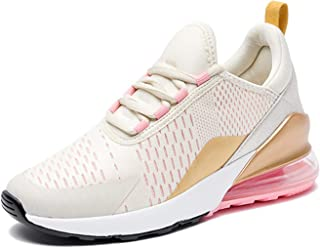 ASMCY Zapatos para Correr Mujer Respirable Y Ligero Entrenadores Al Aire Libre Zapatos Deportivos Casual Moda Colchón de A...