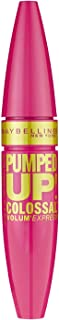 Maybelline New York Volum' Express Pumped Up! Colossal Washable Mascara, Glam Black, 0.33 fl. oz.