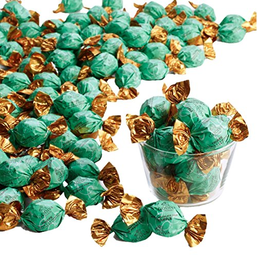 Godiva Chocolatier Wrapped, Dark Mint Chocolate Chip, Truffle Bulk Gift Case