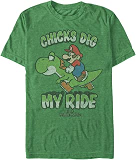 Nintendo Men's My Ride - Heather T-Shirt Kelly