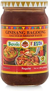 Barrio Fiesta Ginisang Bagoong Sauteed Shrimp Paste - Regular 8.85oz (250g), 2 Pack