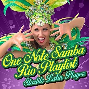 One Note Samba-Rio Playlist