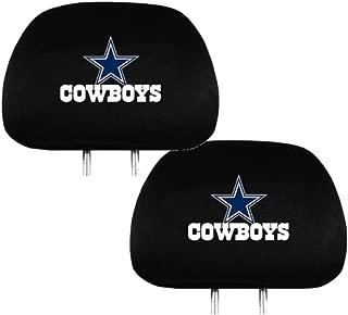 Team ProMark Official National Football League Fan Shop Authentic Headrest Cover (Dallas Cowboys)