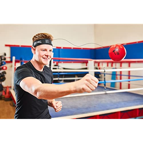 boxaball The Original Boxing Reflex Ball Great for Training to Improve Reactions and Speed, Boxing Gym Equipment Super for Both Training and Fitness