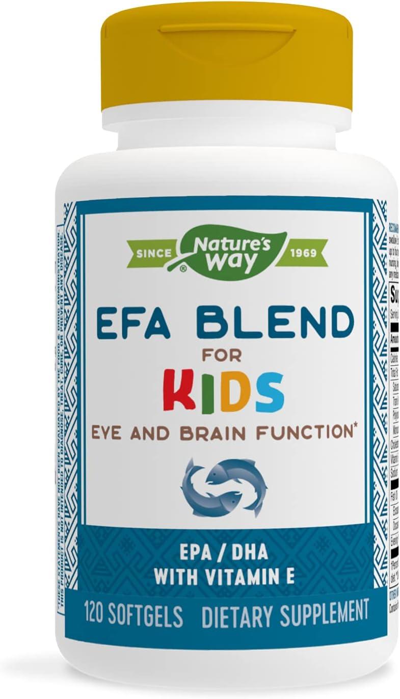 Nature's Way EFA Blend Softgels for Children Max 64% OFF Max 88% OFF 120