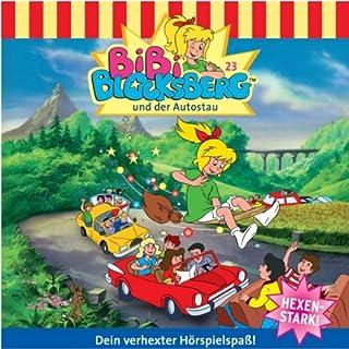 Bibi und der Autostau audiobook cover art