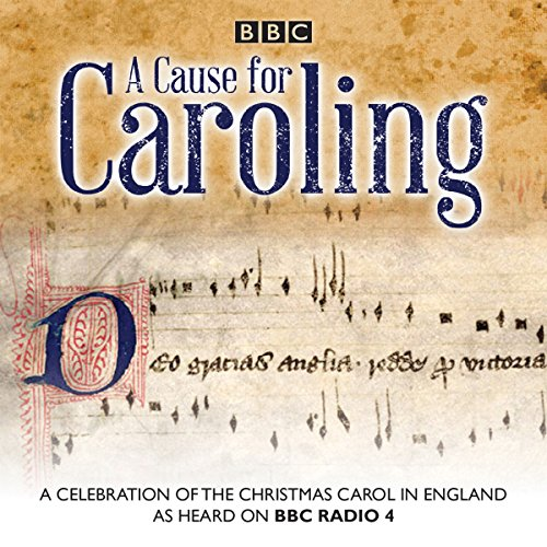 A Cause for Caroling audiobook cover art
