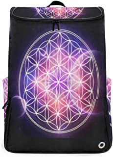 Travel Backpack Customized Life Rainbow Flower Gym Backpack for Men Big Hunting Bag