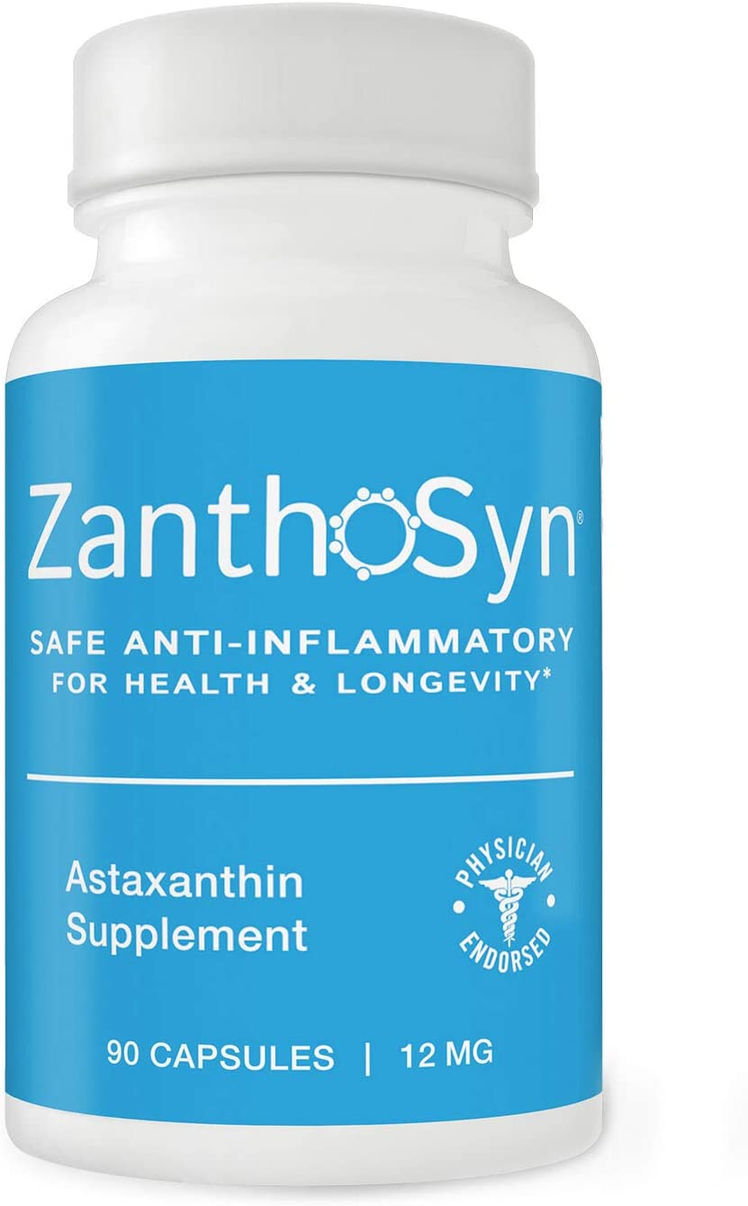 ZanthoSyn 人気ブランド多数対象 Astaxanthin 90 品質検査済 Vegetarian Milligram 12 Capsules