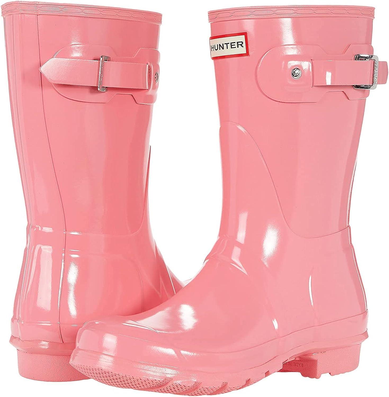 Hunter Women's Original Short Rain Boots Animer and price Award-winning store revision Gloss
