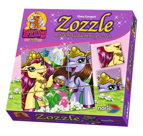 Noris 606010006 - Filly Elves Zozzle Blossom & Xander