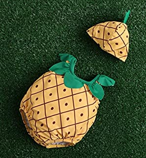 夏日の雨 女の子 男の子 水着 2点セット  ビーチ 夏 海水浴 スイムウェア 可愛い 果物柄 動物柄