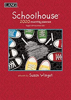 Schoolhouse August 2019 - January 2021 Monthly Planner