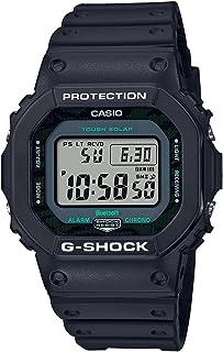 Casio G-Shock Midnight Green Series,Men Digital,Green Strip Camouflage Dial,Resin Band -GW-B5600MG-1DR.