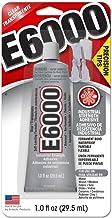 Glue W/Tips E6000 1oz,Clear,2 Pack